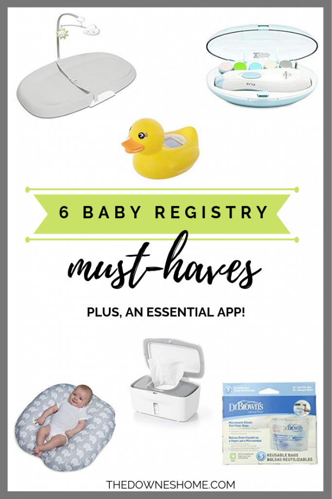 6 baby registry must haves collage