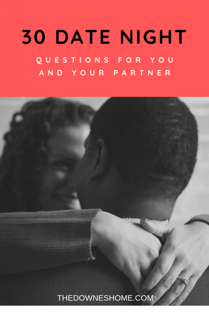 Date night questions - couple hugging