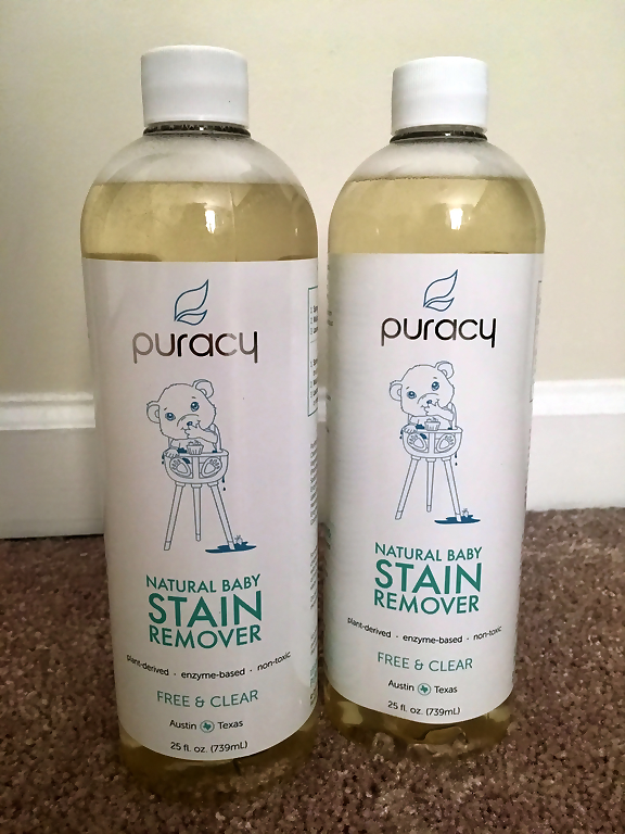 Puracy natural stain remover.