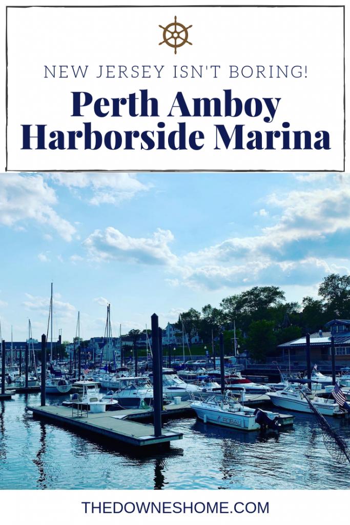 Perth Amboy Harborside Marina.