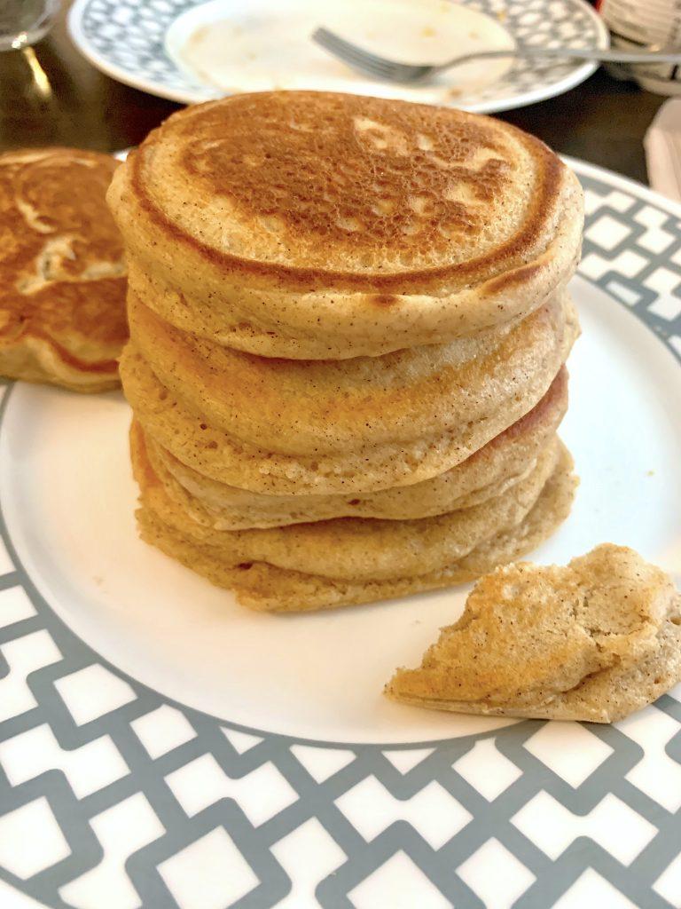 Stack of pancakes.
