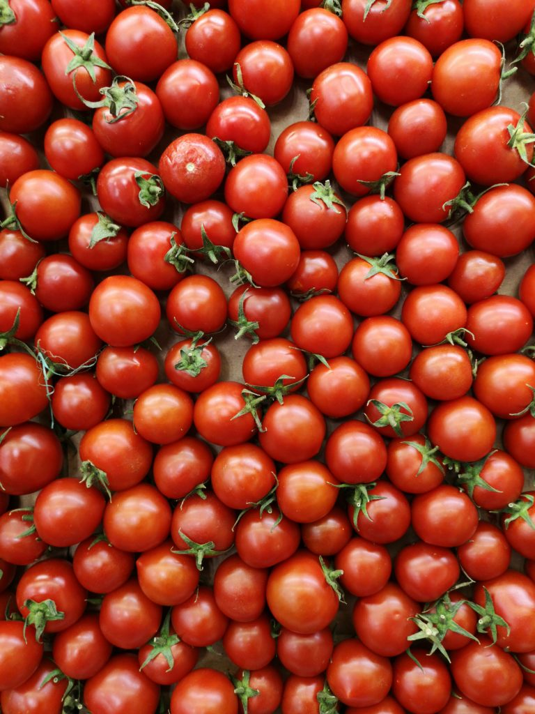 Tomatoes for the pasta